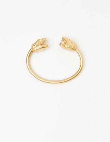 Brazalete serpiente dorado - Pulseras - Nícoli