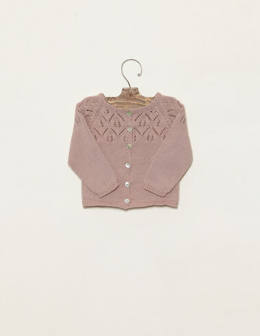 Pink jacket with fretwork - View all > - Nícoli