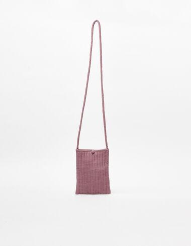Berry corduroy shoulder bag - View all > - Nícoli