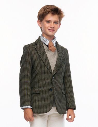 Blazer tweed verde - Ver todo > - Nícoli