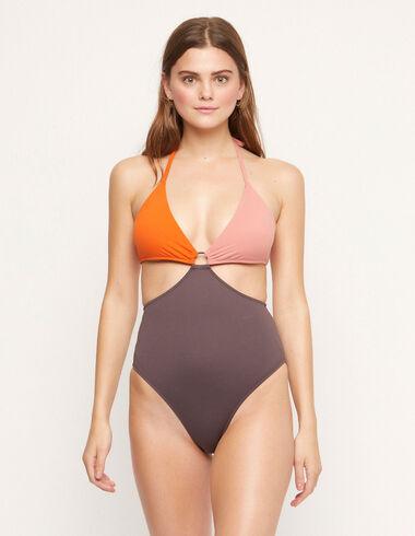 Trikini bicolore rose/orange - Voir tout > - Nícoli