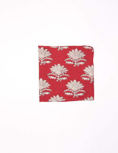 Terracotta Indian flower scarf - View all > - Nícoli