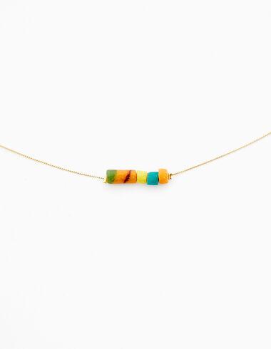 Collier pierres multicolores - Accesoires - Nícoli