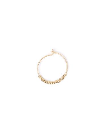 Boucles d'oreilles anneau dorées - Voir tout > - Nícoli