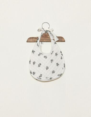 Babero print flor verde - Complementos - Nícoli
