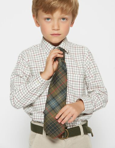 Boy's red checked shirt - View all > - Nícoli