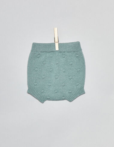Light green bobble baby bloomers - Bloomers - Nícoli