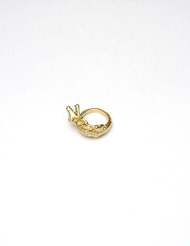 Coco Ring' dorado - Golden Collection - Nícoli