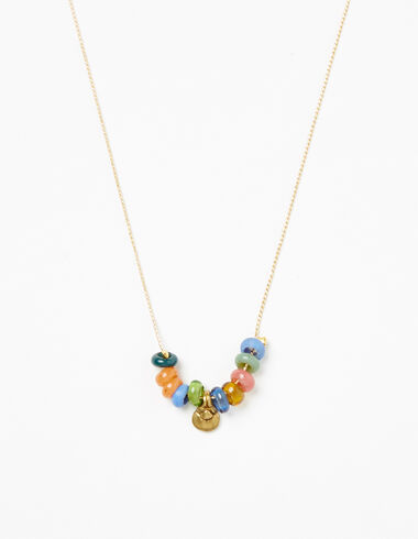 Light multicolour stone necklace - View all > - Nícoli