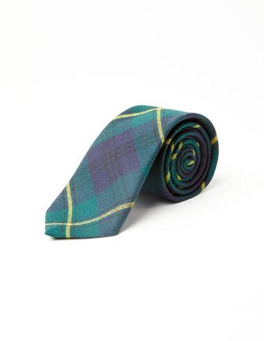 Johnstone modern tartan tie - View all > - Nícoli