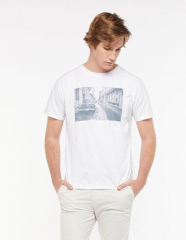 White street t-shirt - View all > - Nícoli