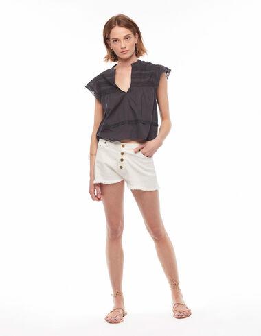 White shorts - Shorts - Nícoli