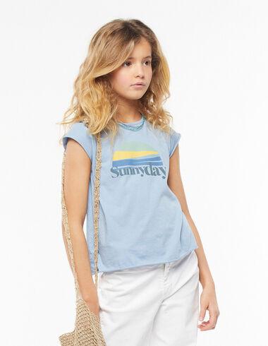 Camiseta sunny day azul - Camisetas - Nícoli