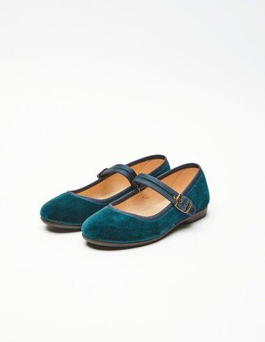 Sandales chinoises bleues - Chaussures - Nícoli