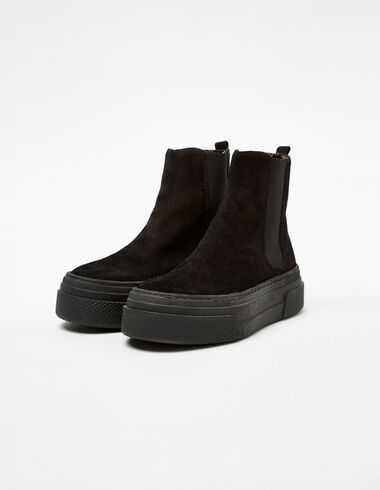 Black sneaker boots - Shoes - Nícoli