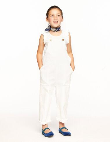 Peto tirantes bolsillos blanco - Ropa - Nícoli