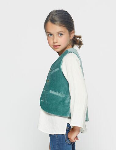 Green velvet waistcoat - Waistcoats - Nícoli