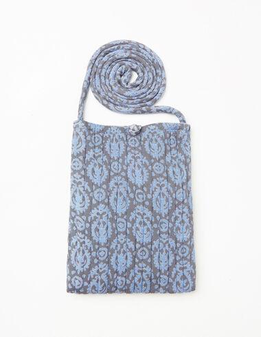 Bandolera paisley azul de niña - Ver todo > - Nícoli