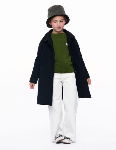 Manteau col rond noir - Voir tout > - Nícoli