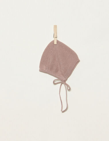 Pink pointed bonnet - Accesories - Nícoli