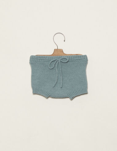 Blue bloomers with tie - Bloomers - Nícoli