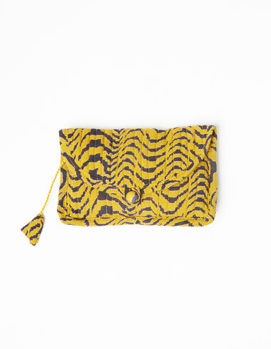 Mustard zebra coin purse - View all > - Nícoli