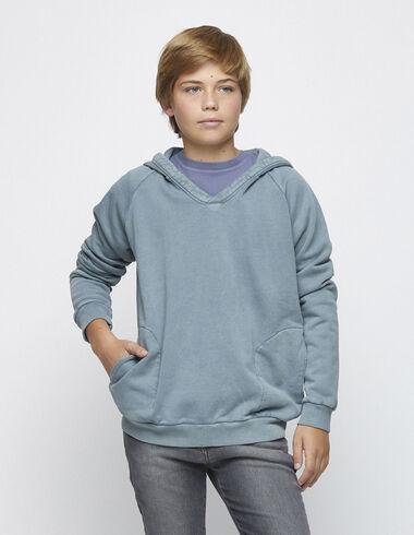 Green hoodie - Jumpers & Sweatshirts - Nícoli