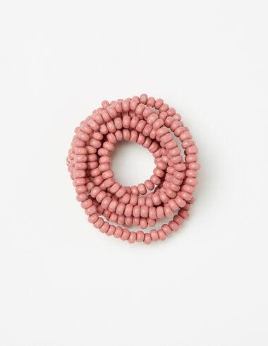 Collier perles roses pour petites filles - Accesoires - Nícoli