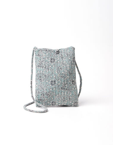 Green flowers shoulder bag - View all > - Nícoli