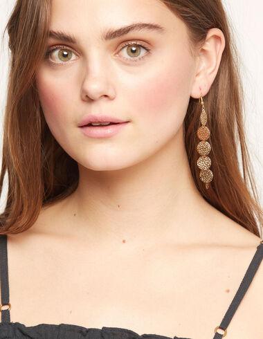 Gold circles earrings - View all > - Nícoli