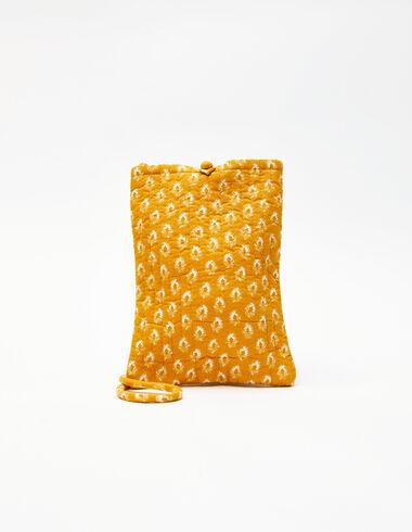 Mustard leaf print crossbody bag - View all > - Nícoli