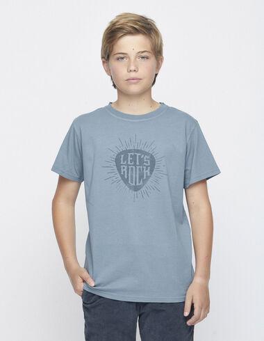 """Tee-shirt solidaire vert """"rock"""" - Voir tout > - Nícoli"""