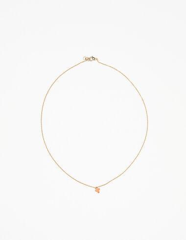 Collar trébol naranja - Collares - Nícoli
