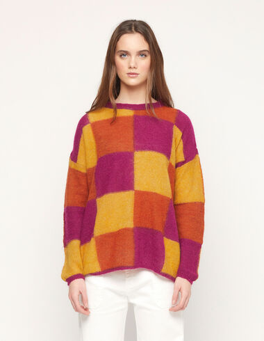 Pink check jumper - Special prices - Nícoli