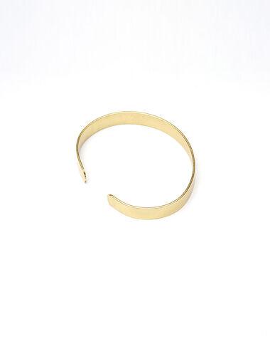 Large gold bracelet - Golden Collection - Nícoli