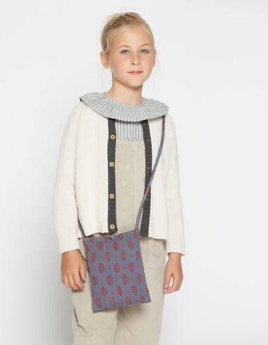 Girl's natural bicolour cardigan - View all > - Nícoli