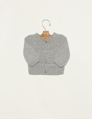 Chaqueta botones gris - Chaquetas - Nícoli