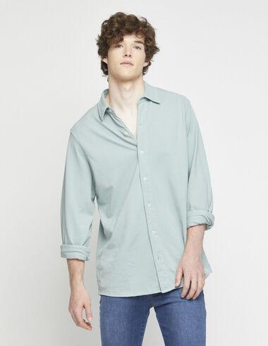 Light green short sleeved polo shirt - Polo shirts - Nícoli