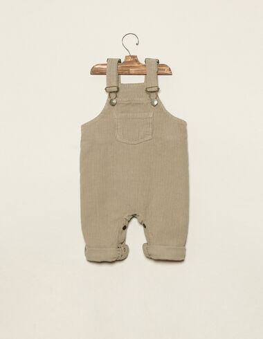 Beige corduroy dungarees - View all > - Nícoli