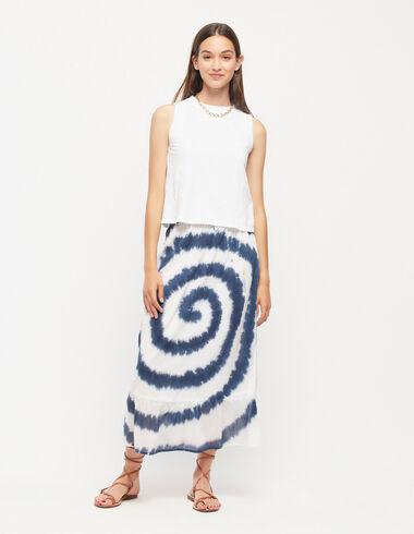 Falda larga tie dye azul - Ver todo > - Nícoli
