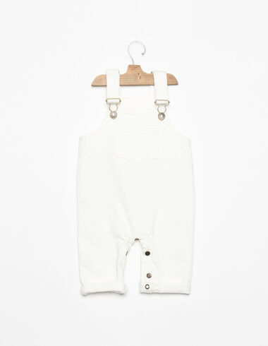 Long white dungarees - View all > - Nícoli
