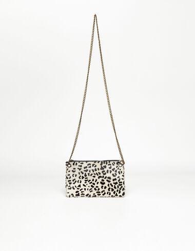 Off-white leopard print leather bag - New in - Nícoli