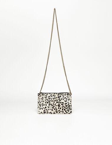 Bolso piel leopardo crudo - New in - Nícoli