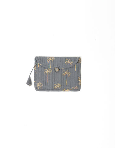 Green palm trees coin purse - Basics to put your life in order - Nícoli