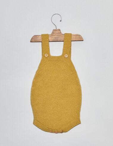 Ranita bebé punto mostaza - Monos y petos - Nícoli