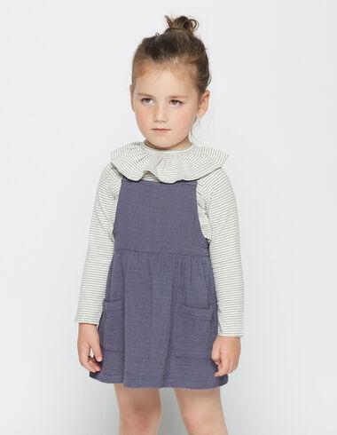 Robe bleue pour petites filles - Voit tout > - Nícoli