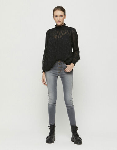 Grey skinny jeans - Denim - Nícoli
