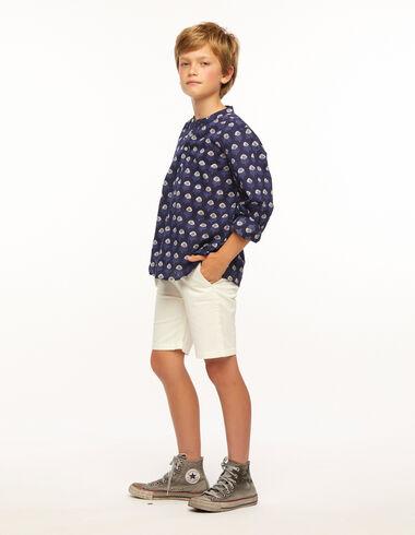 Ecru chino shorts - Shorts - Nícoli