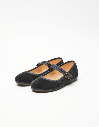 Sandales chinoises noires - Geometric Vests - Nícoli