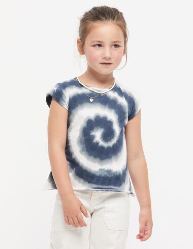 Blue tie dye t-shirt - View all > - Nícoli